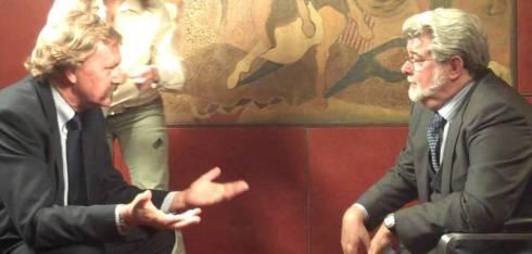 Paddy Miller interviews George Lucas